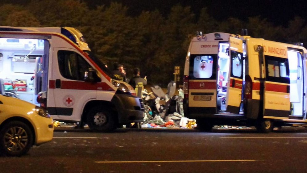 Ambulanze - Immagine d'archivio