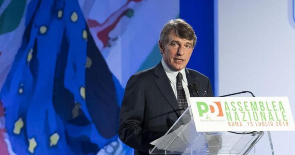 Davide Sassoli, Presidente dell'Europarlamento