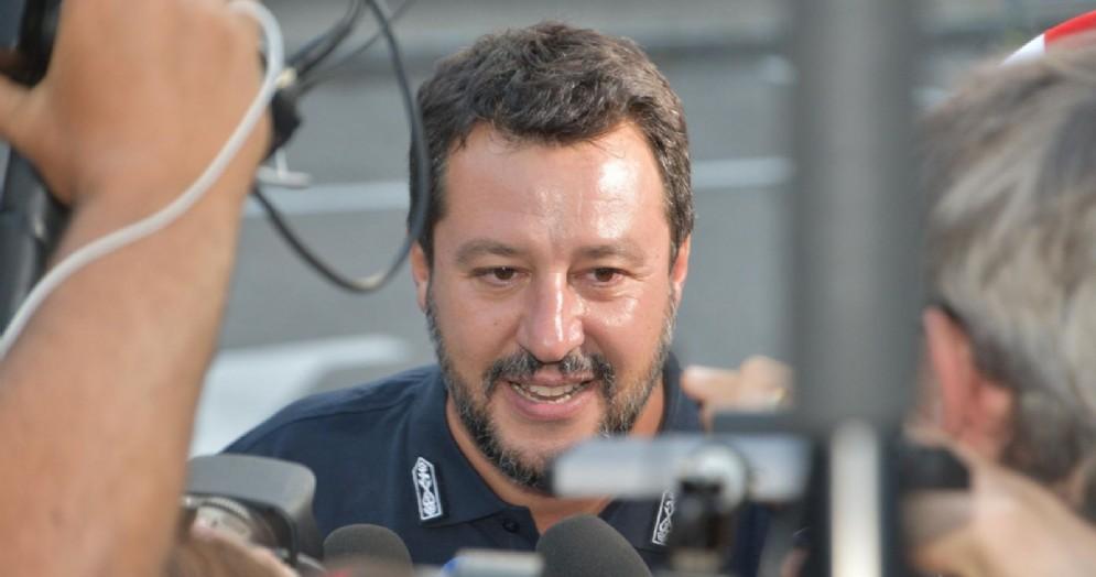 L'ex Ministro dell'Interno, Matteo Salvini