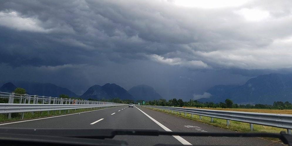 Allerta meteo della Protezione Civile per i temporali in arrivo
