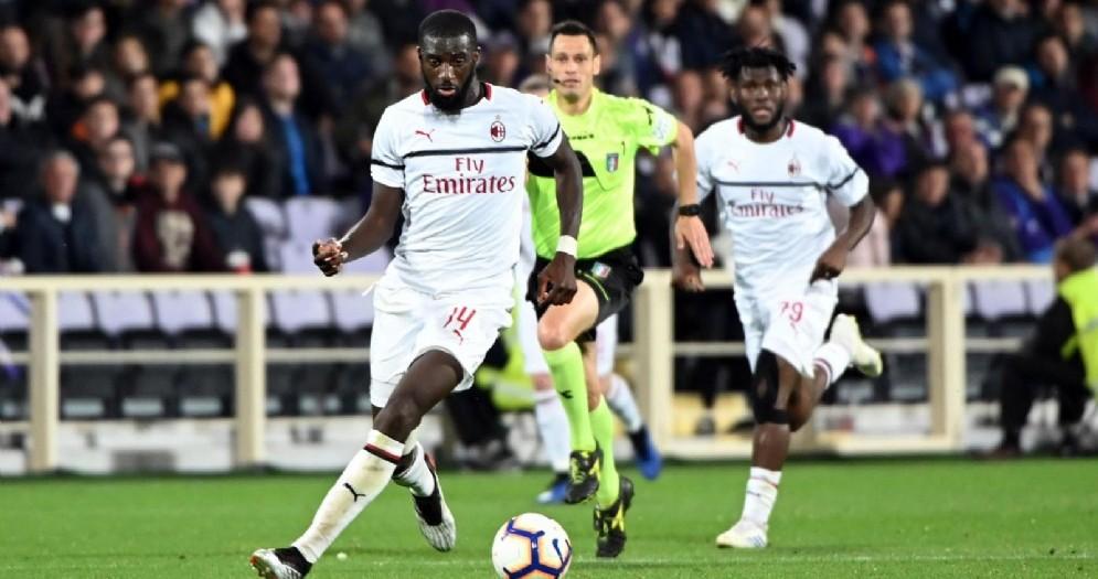 Tiémoué Bakayoko, centrocampista francese attualmente al Monaco e lo scorso anno al Milan