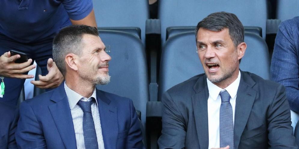 Boban e Maldini, rispettivamente CFO e direttore tecnico del Milan