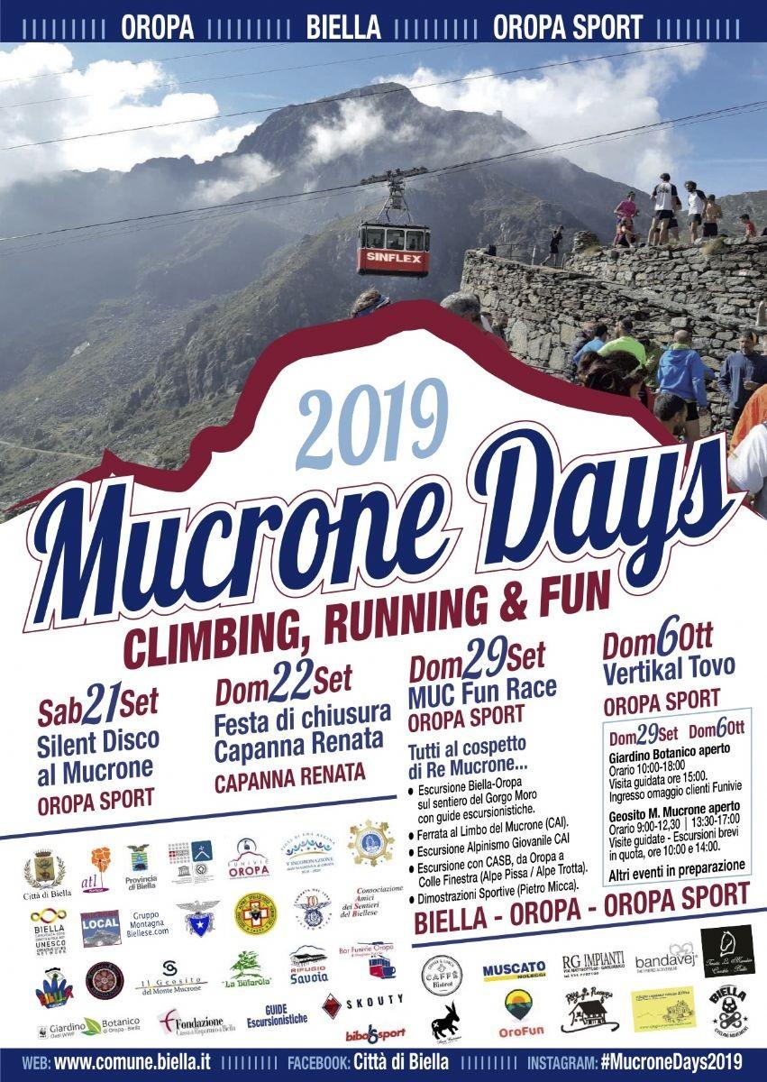 Volantino Mucrone Days 2019