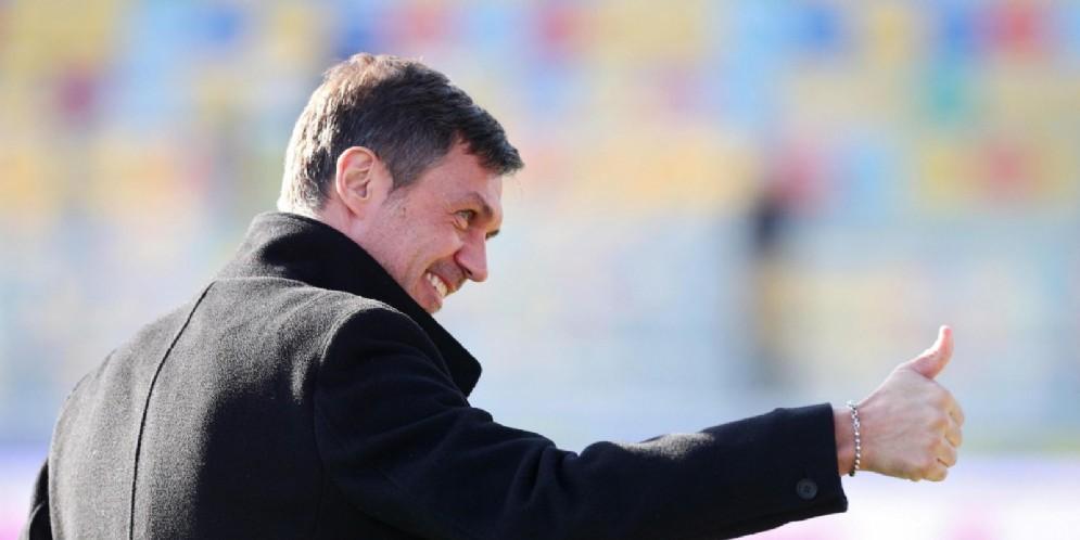 Il direttore tecnico del Milan Paolo Maldini
