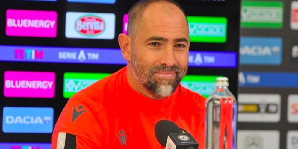 L'allenatore dell'Udinese, Igor Tudor