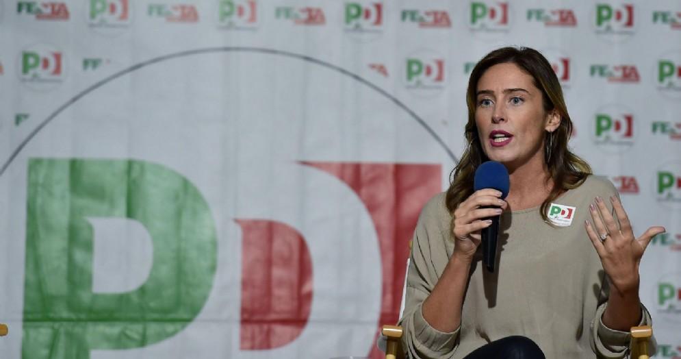 Maria Elena Boschi, Deputata del Partito Democratico