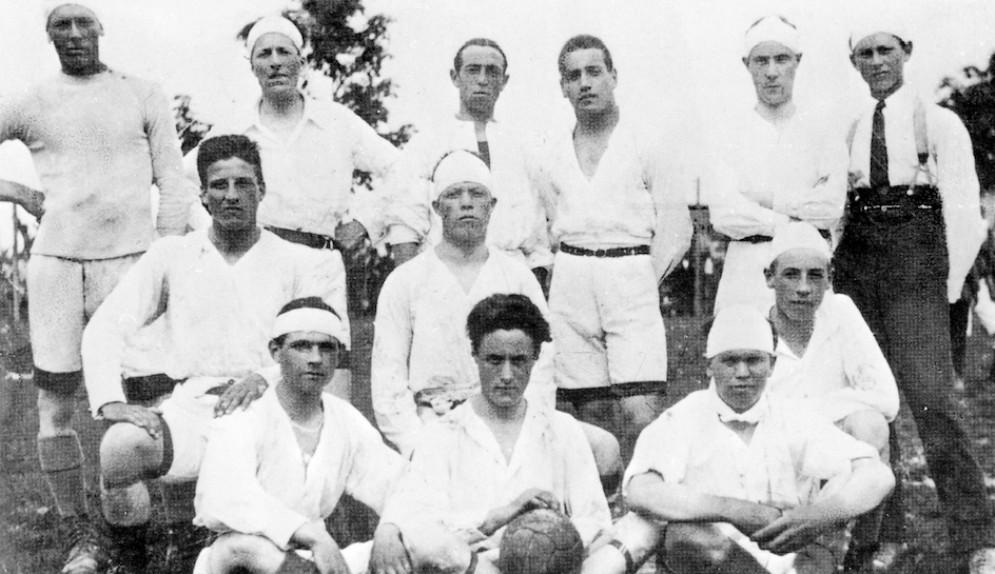 Una mostra fotografica per i 100 anni del Pozzuolo calcio