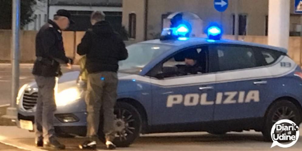 Controlli della Polizia ad Udine