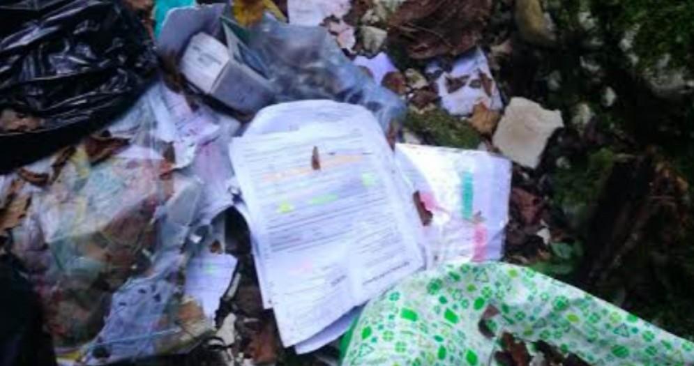 Rifiuti abbandonati nel rio Cjanevata, interviene la polizia locale