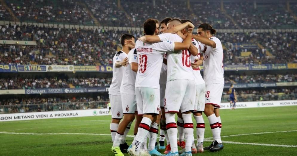 Il gruppo del Milan va a caccia della conquista del quarto posto in serie A
