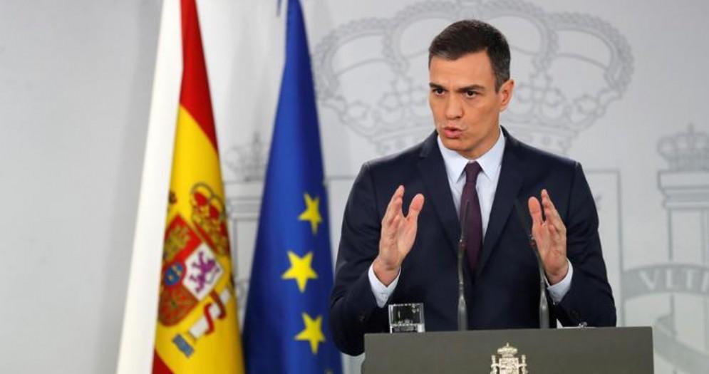 Pedro Sanchez, leader del PSOE