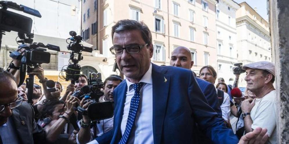 Giancarlo Giorgetti, vicesegretario della Lega Nord