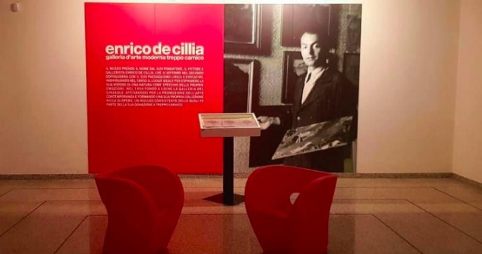La Galleria d'arte moderna De Cillia presenta il nuovo catalogo
