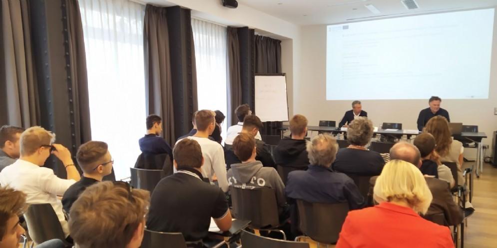 La conferenza stampa di presentazione del progetto «Blue Kep»