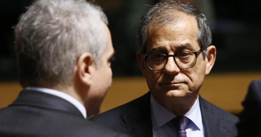 L'ex Ministro dell'Economia, Giovanni Tria