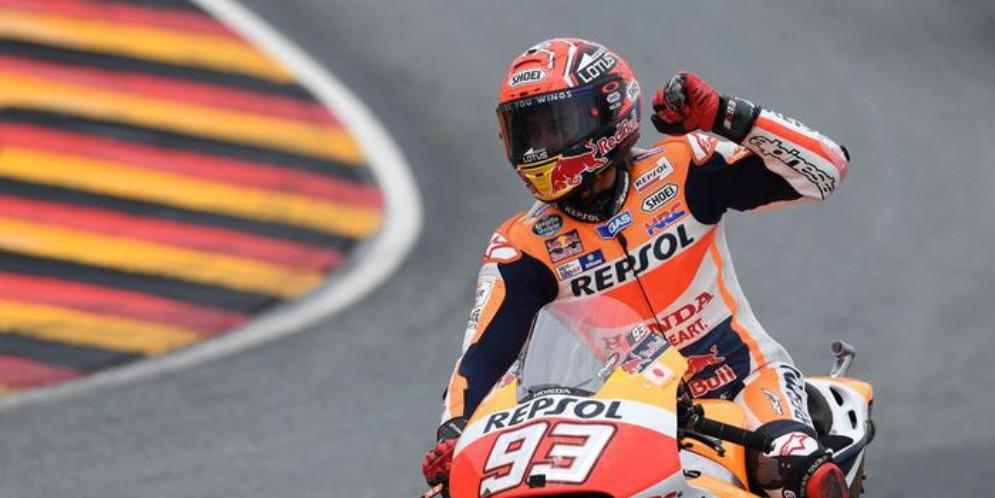 Marc Marquez in pole ad Aragon