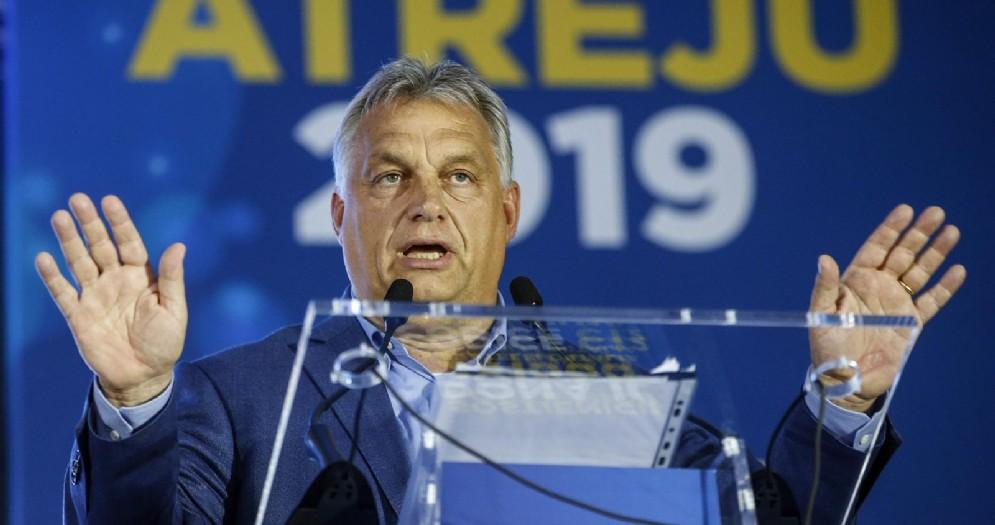 Il Premier ungherese, Viktor Orban a Atreju 2019
