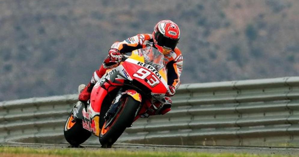 Marc Marquez trionfa ad Aragon