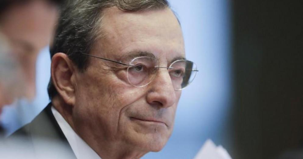 Il Presidente uscente della BCE, Mario Draghi