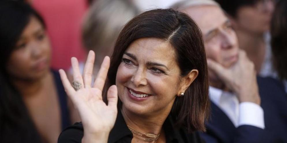 L'ex Presidente della Camera, Laura Boldrini