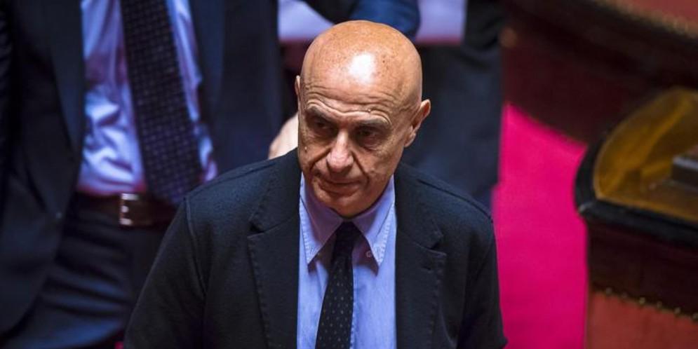 L'ex Ministro dell'Interno, Marco Minniti