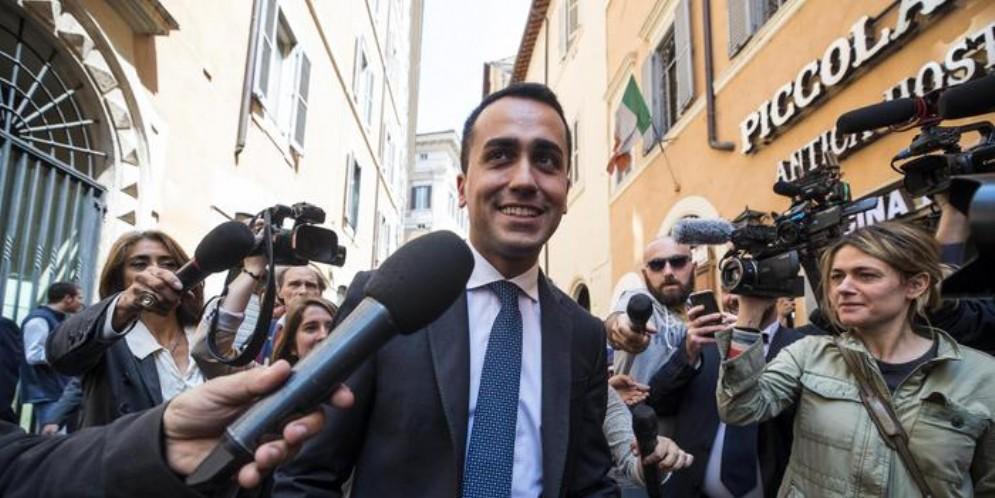 Il leader del MoVimento 5 Stelle, Luigi Di Maio