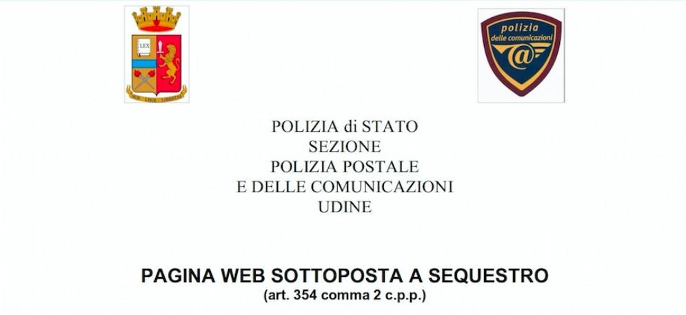 La Polizia postale di Udine scopre un falso sito di Poste Italiane
