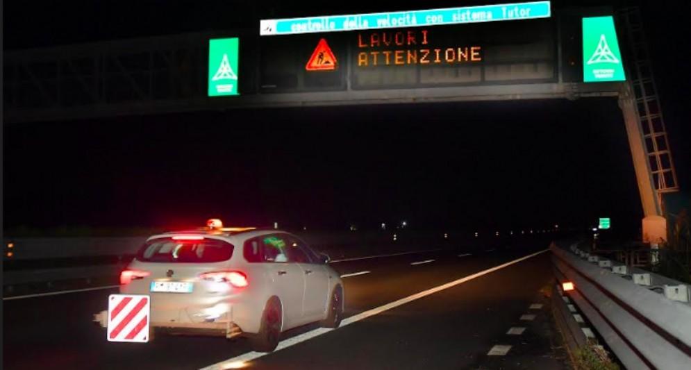 Tutor sulla rete autostradale: effettuate le operazioni di taratura