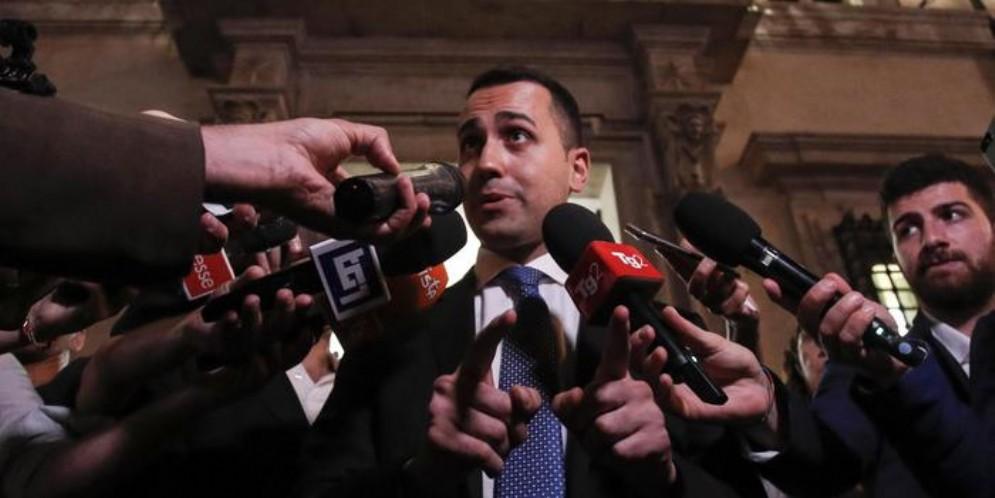 Il capo politico del MoVimento 5 Stelle, Luigi Di Maio