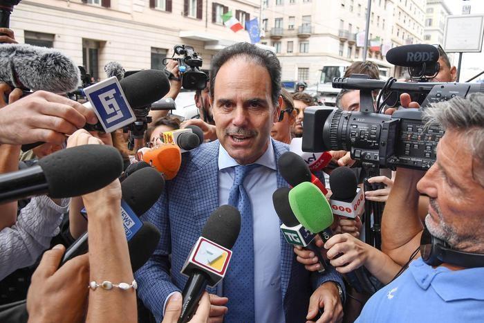 Il capogruppo al Senato, Andrea Marcucci