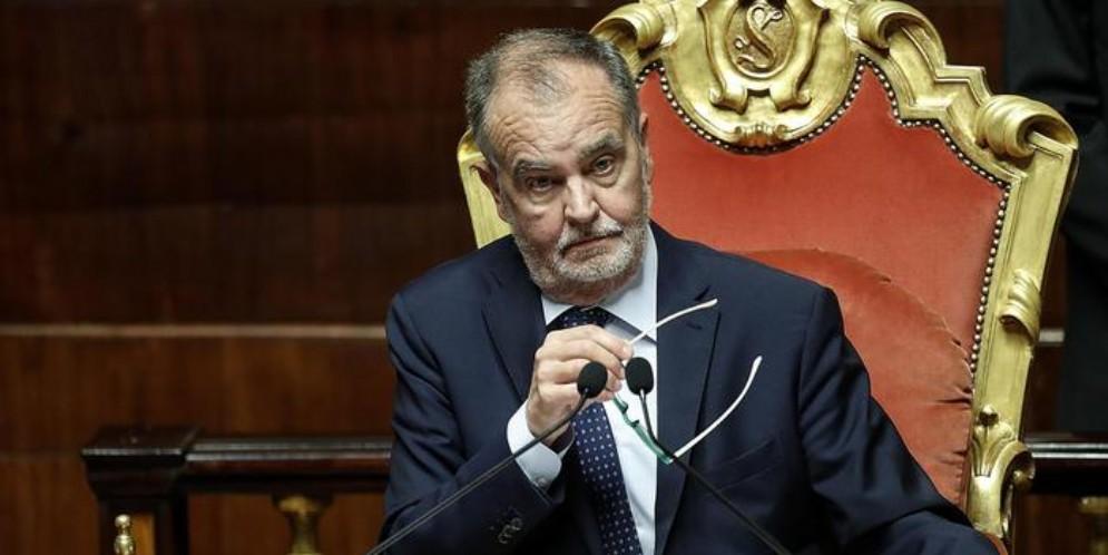 Roberto Calderoli, vicepresidente del Senato