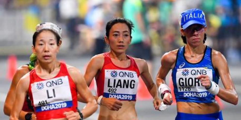 Eleonora Giorgi bronzo nella 50 km di marcia