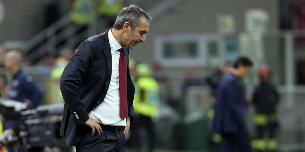 Marco Giampaolo, allenatore del Milan