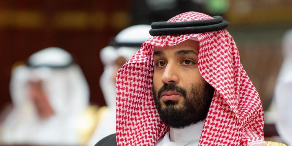Il principe ereditario saudita, Mohammed bin Salman