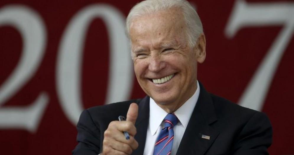 Il democratico Joe Biden
