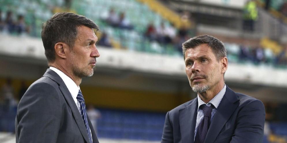 Paolo Maldini e Zvonimir Boban: a loro è stato affidato il difficile compito di risollevare il Milan