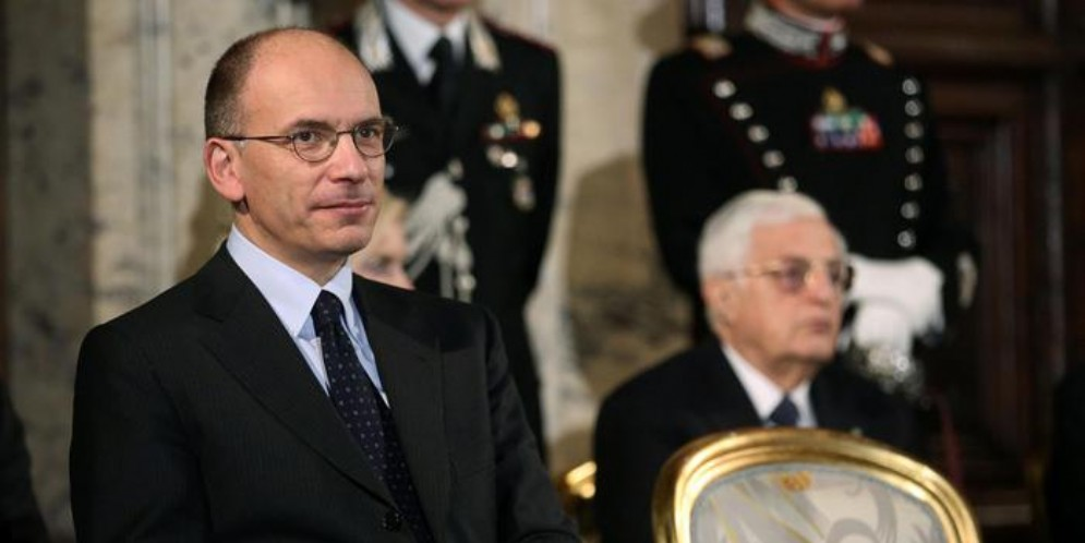 L'ex Premier Enrico Letta