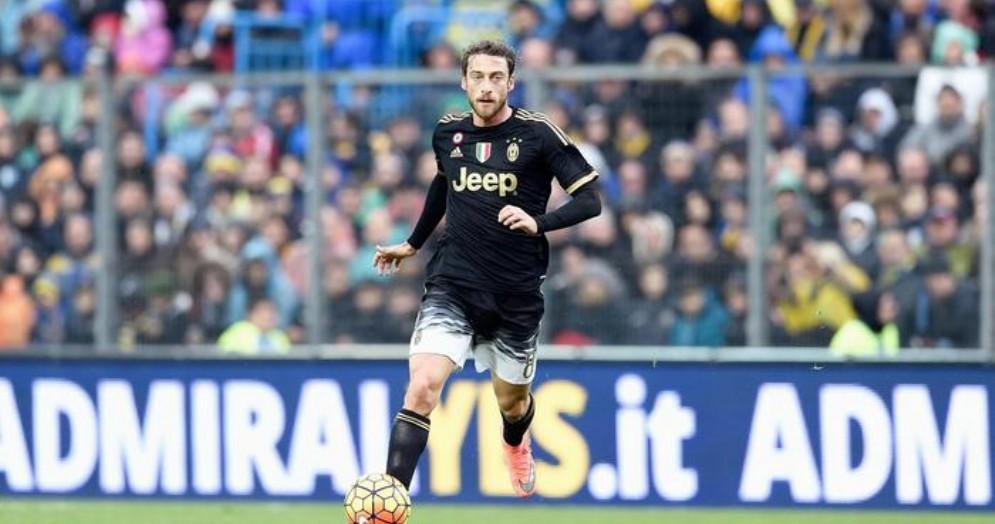 Claudio Marchisio con la maglia della Juventus