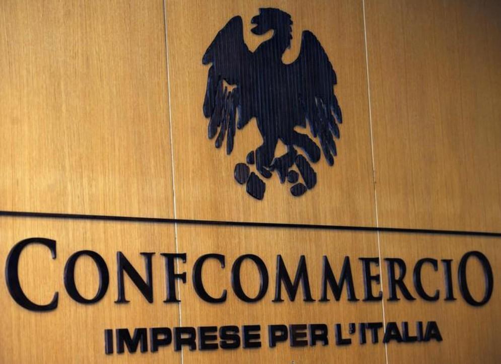 Il logo di Confcommercio