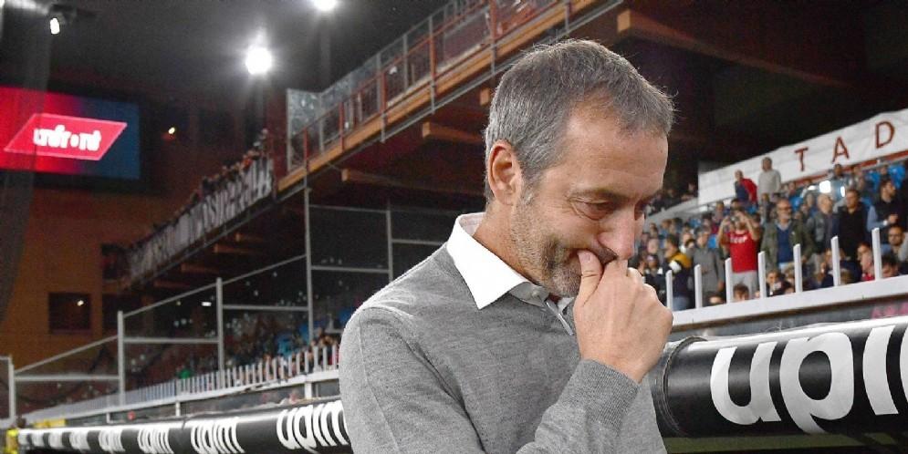 Marco Giampaolo: il suo futuro sulla panchina del Milan è più a rischio che mai