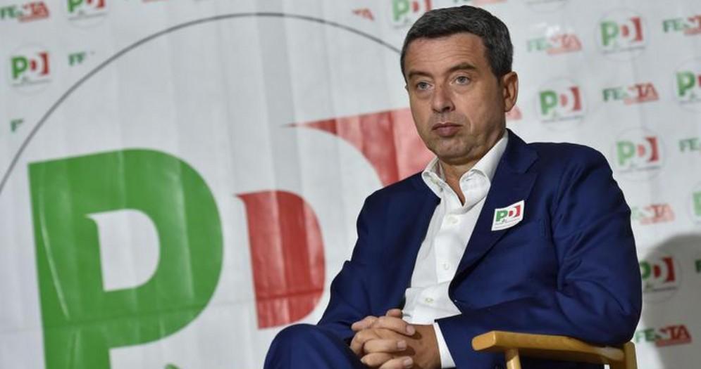 Il vicesegretario del PD, Andrea Orlando