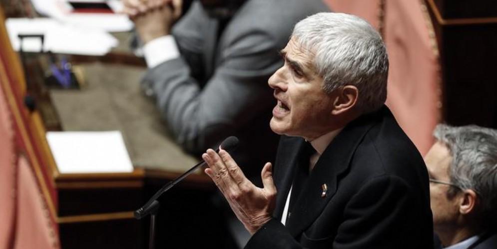 L'ex Presidente della Camera, Pier Ferdinando Casini