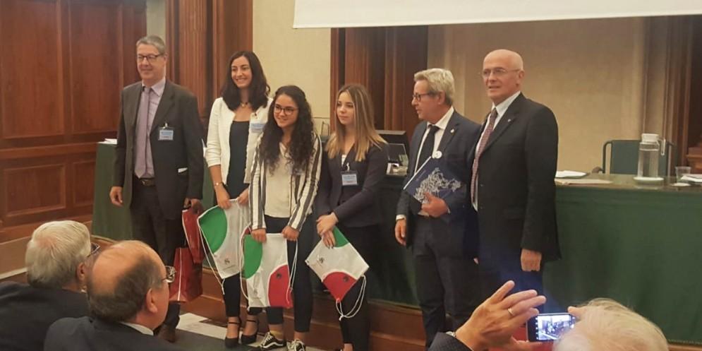 I ragazzi del Malignani di Udine ricevuti in Senato