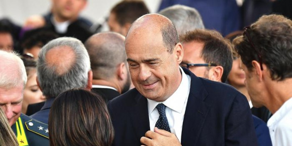 Il Segretario del PD, Nicola Zingaretti