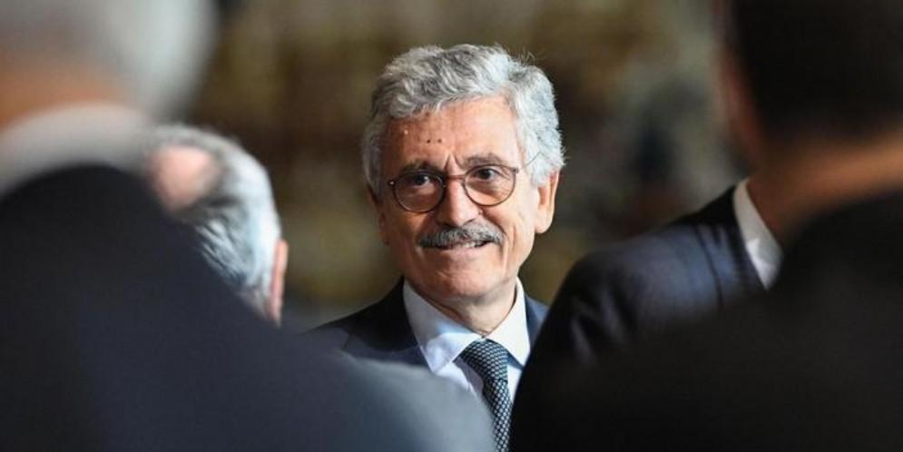 L'ex Presidente del Consiglio, Massimo D'Alema