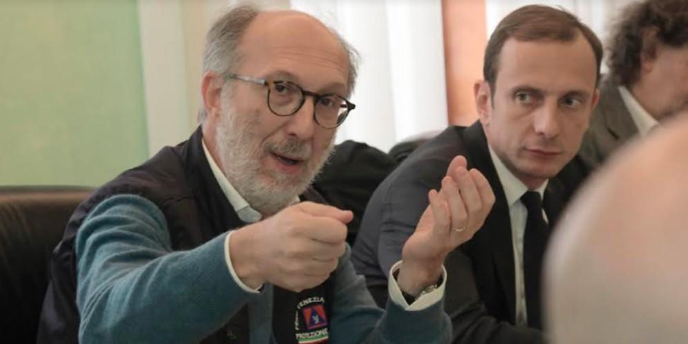 Riccardo Riccardi con Massimiliano Fedriga