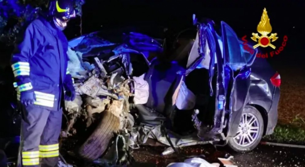 Schianto a Lugugnana: morto un 39enne friulano