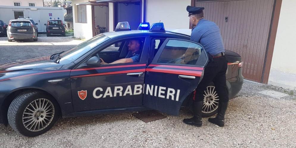 Rapinatore condannato a 2 anni di carcere preso dai carabinieri
