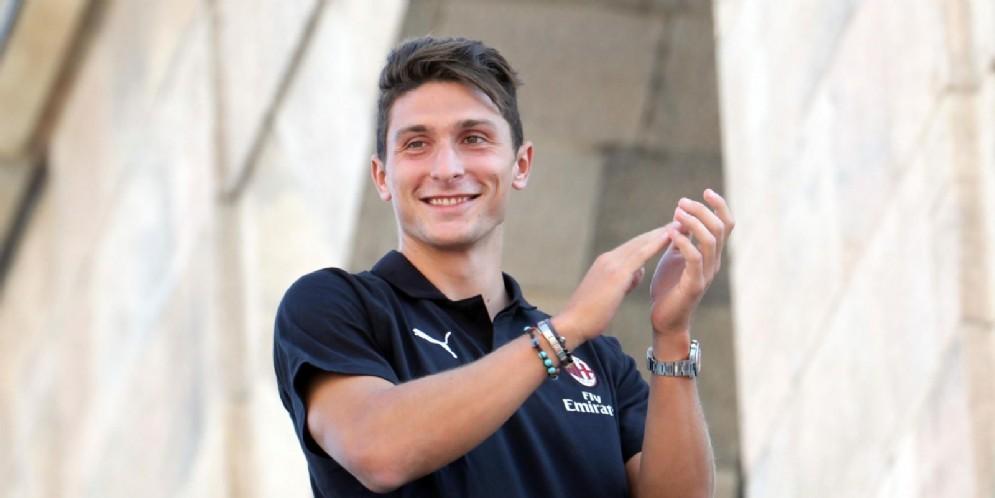 Mattia Caldara, difensore del Milan