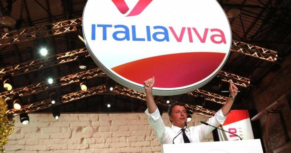 Matteo Renzi dal palco della Leopolda 10